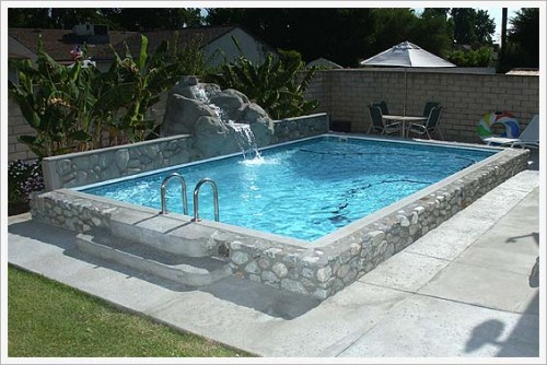 Diy kits best pools inc for Diy small pool